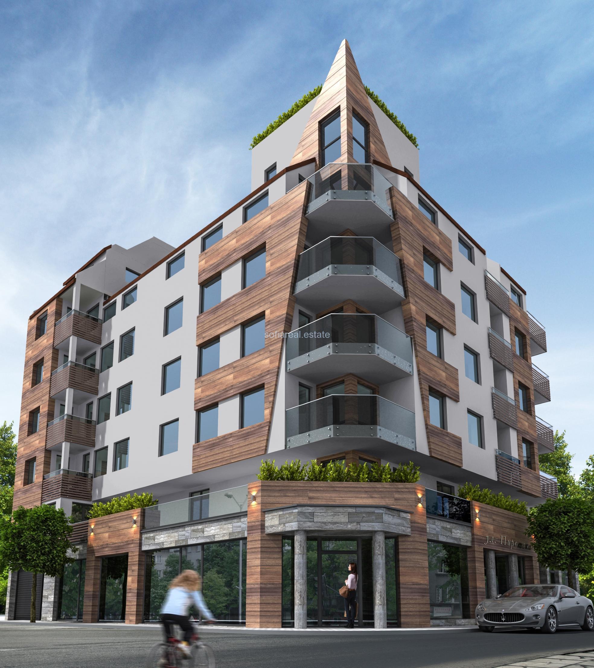 Продава 3 ст и 4 ст в нова сграда в София център