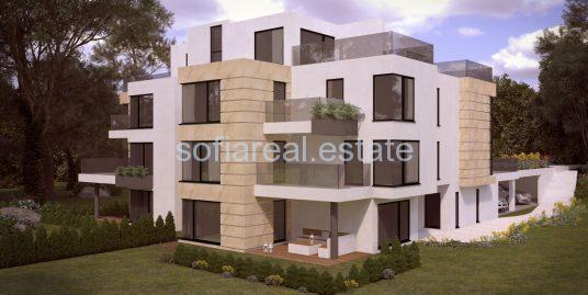 Продава двустаен апартамент в бутикова жилищна сграда в полите на Витоша